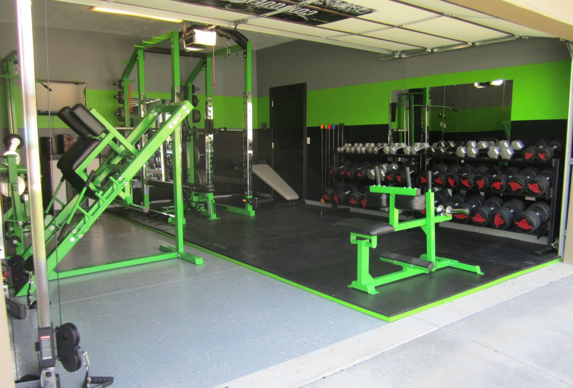 Домашний спортзал. Как сделать тренажерный зал в частном 100