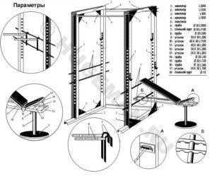 Размеры, параметры