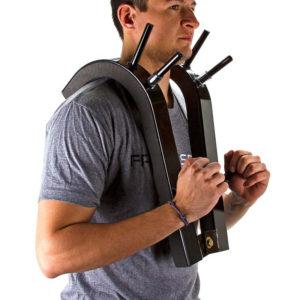Рис 1. Приспособление для приседаний со штангой на груди