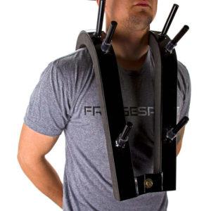 Рис 6. Приспособление для приседаний со штангой на груди