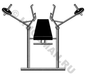 Оригинальный тренажер для развития грудных мышц