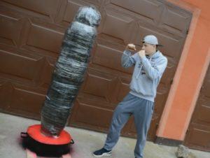 Как сделать тренировочный манекен для бокса и единоборств